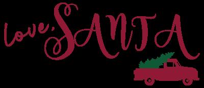 Love, Santa Logo